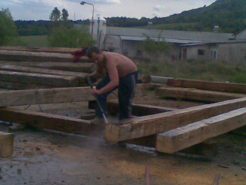 Balken und Dachwerk - bearbeitet