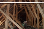 Old beams and trusses